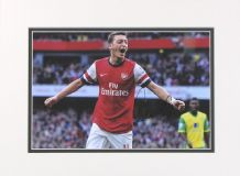 Mesut Ozil Autograph Signed Photo - Arsenal